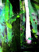 Enchanted Forest Paintings - Enchanted Forest by David Rogers