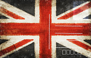 Communication Photos - England flag postcard by Setsiri Silapasuwanchai