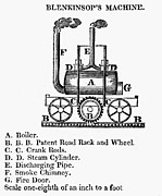 1811 Photos - England: Locomotive, 1811 by Granger