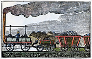 1835 Photos - England: Railroad, 1835 by Granger