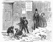 Throw Posters - England: Winter, 1855 Poster by Granger