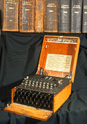 Enigma Prints - Enigma Encryption Machine Used In World War 2 Print by Volker Steger