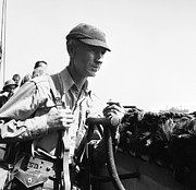 Journalist Photo Posters - ERNIE PYLE (1900-1945). American journalist. Photograph, c1942 Poster by Granger