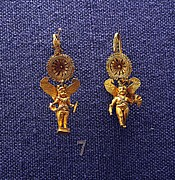 Hellenistic Earrings Photos - Eros  by Andonis Katanos