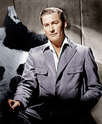 1940s Fashion Posters - Errol Flynn, Ca. 1940s Poster by Everett