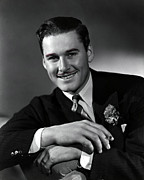 Cigarette Posters - Errol Flynn Poster by Everett