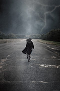 Storm Metal Prints - Escape Metal Print by Joana Kruse