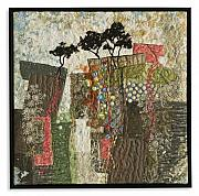 Roots Tapestries - Textiles - Escarpment 14 by Lorraine Roy