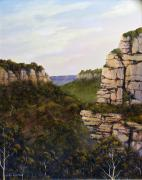 Landscapes Reliefs - Escarpments by John Cocoris
