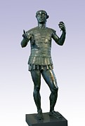 Etruscan Prints - Etruscan Warrior, Mars Of Todi Print by Sheila Terry