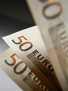 Monetary Posters - Euro Bank Notes Poster by Tek Image