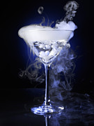 Smoke Posters - Exotic Drink Poster by Oleksiy Maksymenko