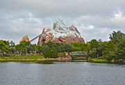 Wdw Prints - Expedition Everest Print by Carol  Bradley - Double B Photography
