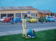 Vw Beetle Originals - Extreme Slug Bug by Gene Ritchhart