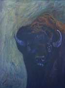 Yellowstone Mixed Media - Eye to Eye by Judy Cardinale