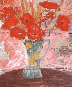 Floral Still Life Mixed Media Prints - Faded Print by Patrick J Murphy