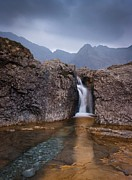 Brittle Posters - Fairy Pools Poster by Maciej Markiewicz