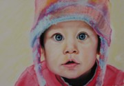 Award Pastels Originals - Faith by Gayle  George