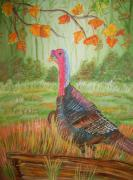 Belinda Lawson Metal Prints - Fall Beginnings Metal Print by Belinda Lawson