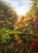 Elaine Bailey - Fall on the Pond