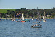 Falmouth Harbour Print by Rod Johnson