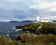 Head Harbour Lighthouse Prints - Fanad Head Lighthouse, Co Donegal Print by The Irish Image Collection