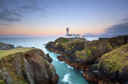 Donegal Posters - Fanad Head Lighthouse Poster by Pawel Klarecki