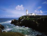 Observatories Prints - Fanad Lighthouse, Co Donegal, Ireland Print by The Irish Image Collection