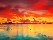 El-nido Framed Prints - Fantasy sunset Framed Print by MotHaiBaPhoto Prints