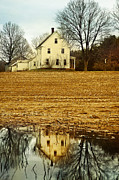 Flooding Framed Prints - Farmhouse Framed Print by HD Connelly