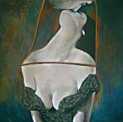 Surrealistic Paintings - Fatal Attraction by Zhana Viel