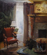 Karen Lawrence - Favorite Red Chair