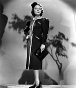 Wray Prints - Fay Wray, Columbia Pictures, 1937 Print by Everett