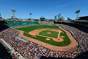 Ballfield Framed Prints - Fenway Park - Boston Red Sox Framed Print by Mark Whitt