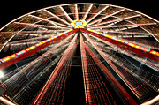 Holiday Theme Framed Prints - Ferris wheel Framed Print by Mats Silvan