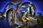 Antique Automobiles Photos - Fifty Four Merc by Jerry Golab