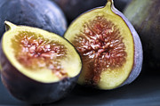 Sliced Metal Prints - Figs Metal Print by Elena Elisseeva