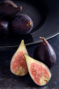 Sliced Prints - Figs Print by HD Connelly
