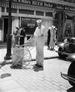 Pushcart Posters - Film Still: Street Cleaner Poster by Granger