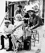 Monroe Photo Prints - Film: The Misfits, 1961 Print by Granger