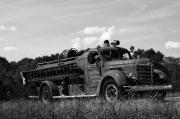 Engine Photos - Fire Truck 2 by Off The Beaten Path Photography - Andrew Alexander