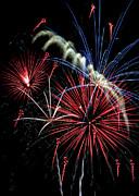 Fireworks Print by Farol Tomson