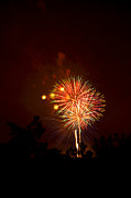 Fire Works Photos - Fireworks by Mike Horvath