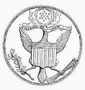 Olive  Art - First U.s. Seal, 1782 by Granger
