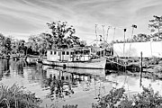 Shrimp Boat Prints - Fishermans Pride Print by Scott Pellegrin