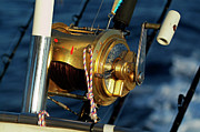 Fishing Rods Metal Prints - Fishing rods Metal Print by Sami Sarkis