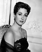 1950s Portraits Metal Prints - Five Fingers, Danielle Darrieux, 1952 Metal Print by Everett