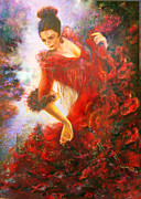Sylva Zalmanson - Flamenco dancer