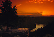Flaming Posters - Flaming Gorge National Recreation Area Poster by Utah Images