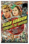 Jbp10ap23 Framed Prints - Flash Gordon Conquers The Universe Framed Print by Everett